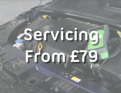 Servicing Price Banner